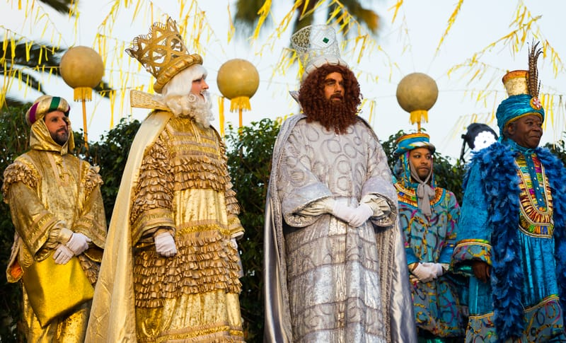 Meeting Of The Three Kings in Barcelona