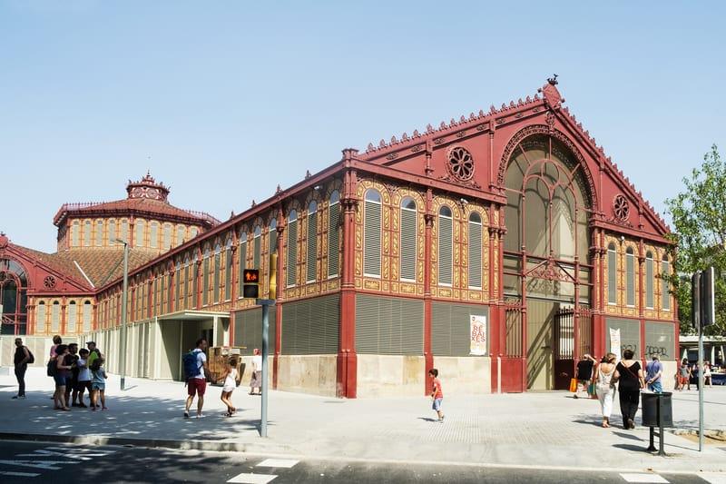 Mercat De Sant Antoni In Barcelona Is A Market For An Assortment Of Goods