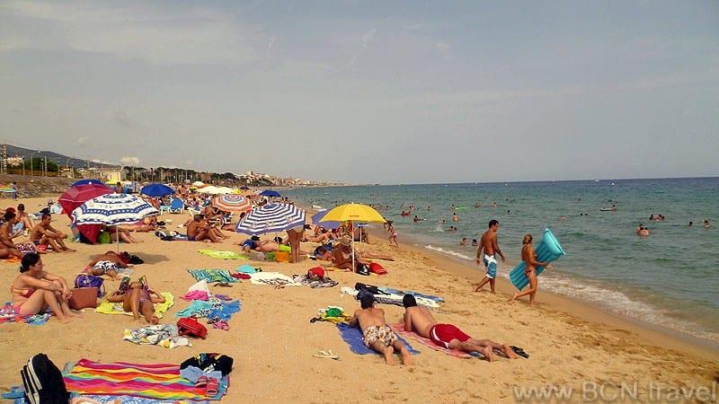 Montgat Beach 800px