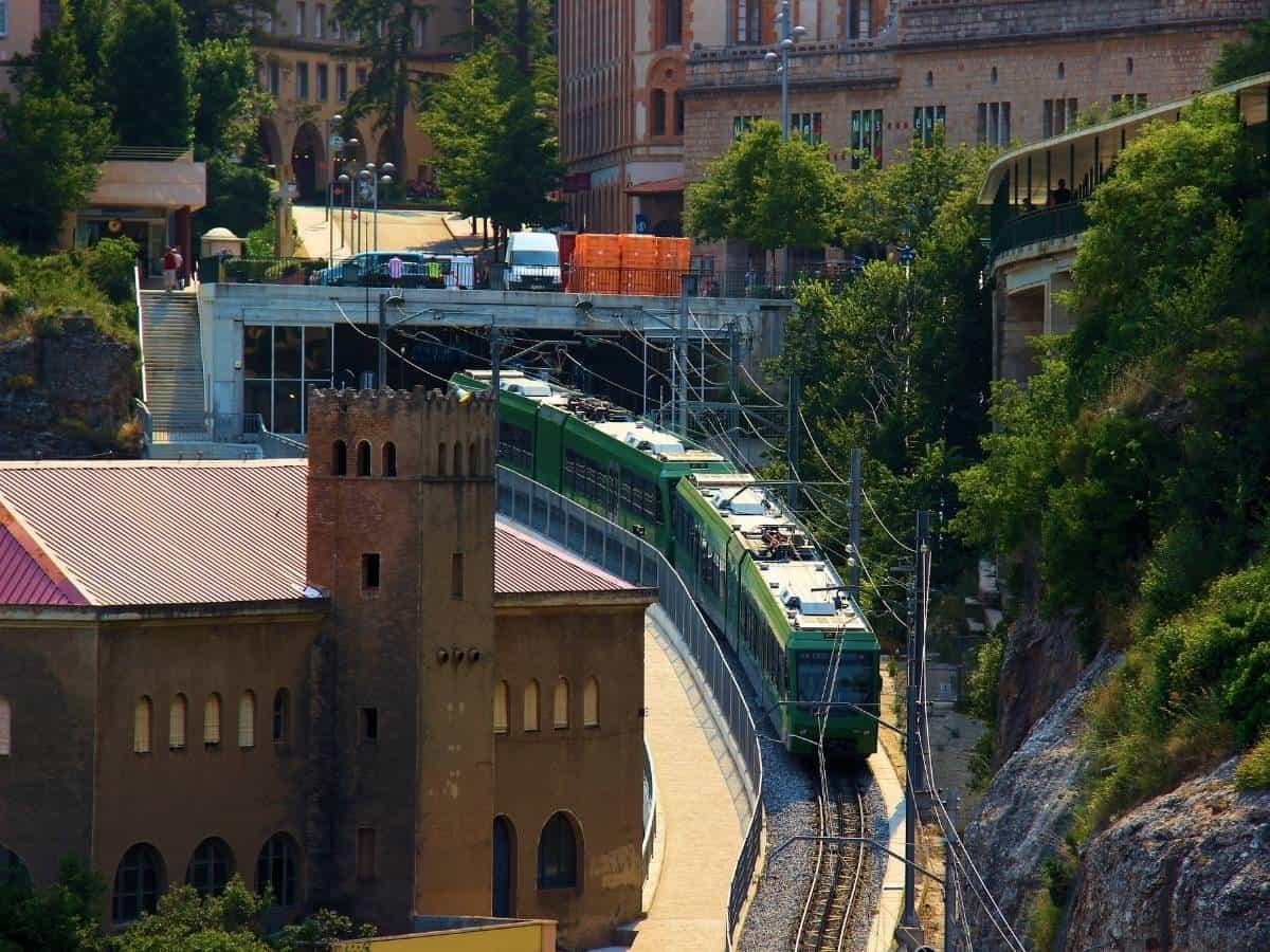 Montserrat Cog Wheel Train