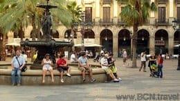 Plaça Reial-Barcelona