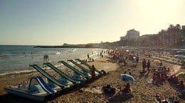 Sitges-Strand