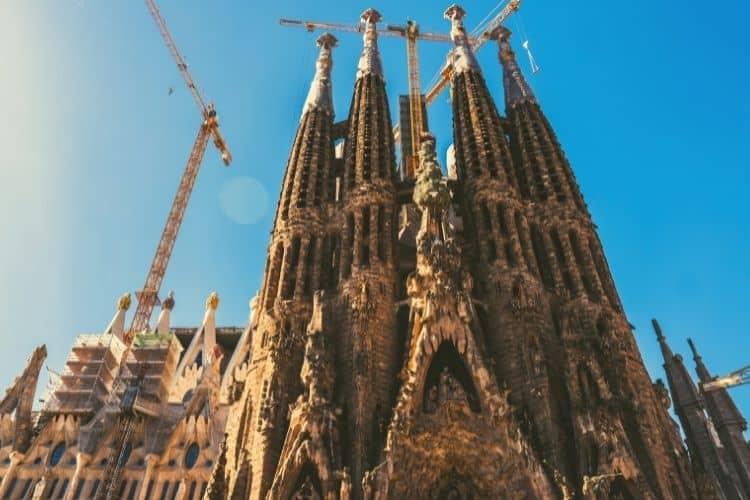 Under Construction Sagrada Familia