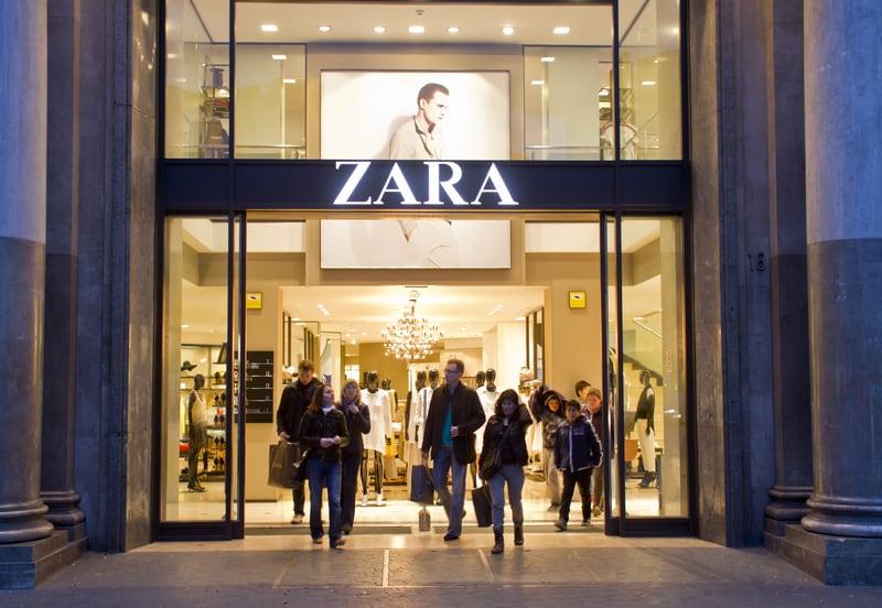 Zara Store On Passeig De Gracia